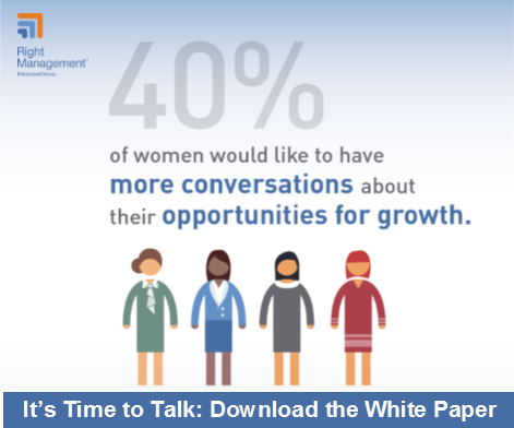 Women, We Hear You: Empowering Women in the Workplace Through Ongoing Career Conversations