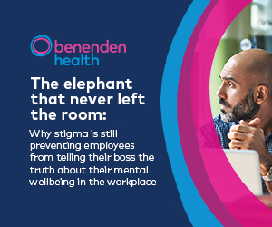 Develop a culture of positive mental wellbeing and remove the stigma around mental wellbeing in the workplace