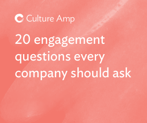 20 employee engagement survey questions every company should ask