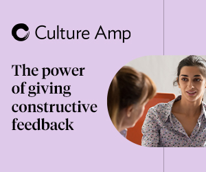 The power of giving constructive feedback
