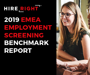 2019 EMEA Employment Screening Benchmark Report