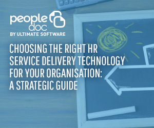 Choosing the right HR Service Delivery technology for your organisation
