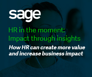 HR in the moment: Impact through insights