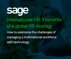 International HR: 5 benefits of a global HR strategy