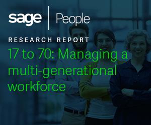 17 to 70: Managing a multi-generational workforce