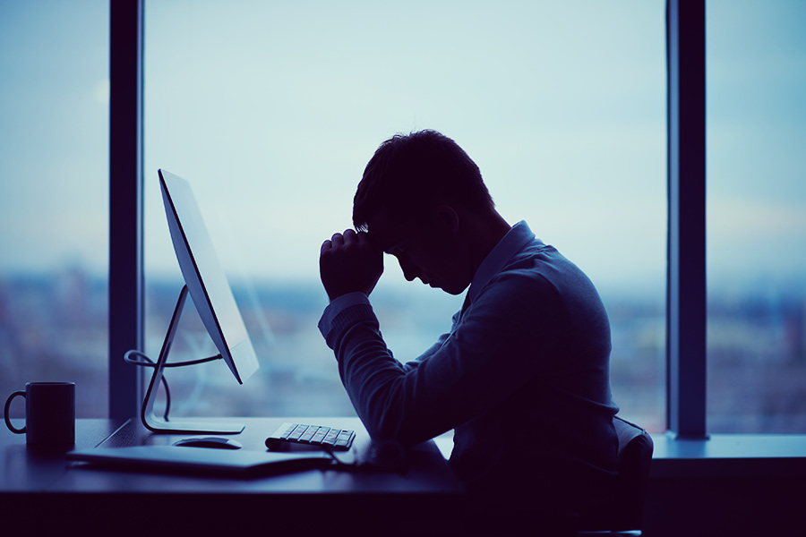 1 in 4 take time off work due to stress but don't admit it