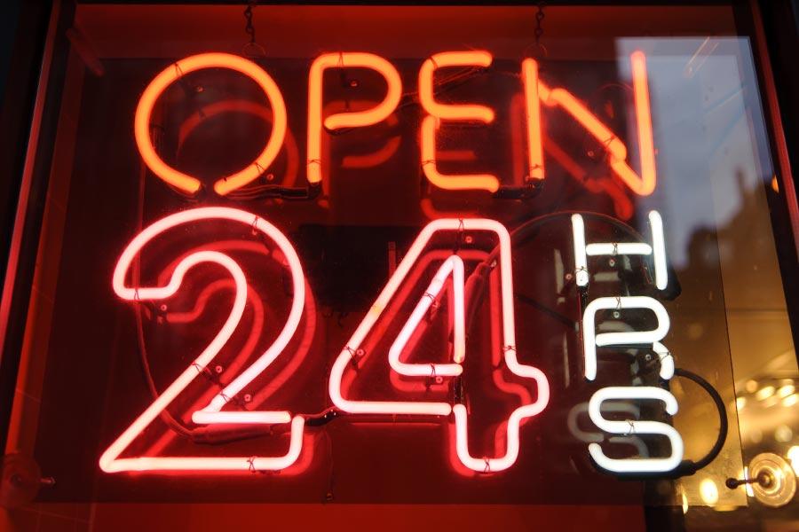 Inside the 24-hour rec agency