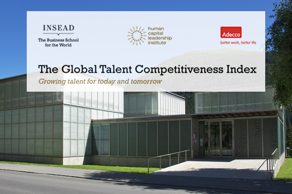 3rd Global Talent Competitiveness Index set for January