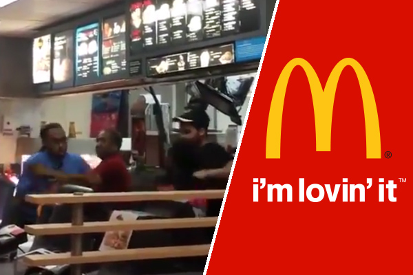 VIDEO: McDonald's employee attacks manager