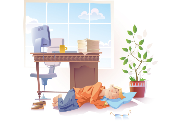 Expert eulogises benefits of napping at work