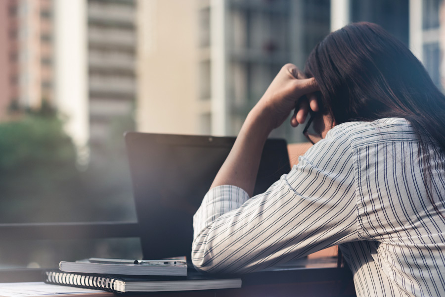Five key signs that you're burning out at work