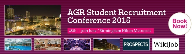 AGR Student Recruitment Conference 2015 - Bookings Now Open!