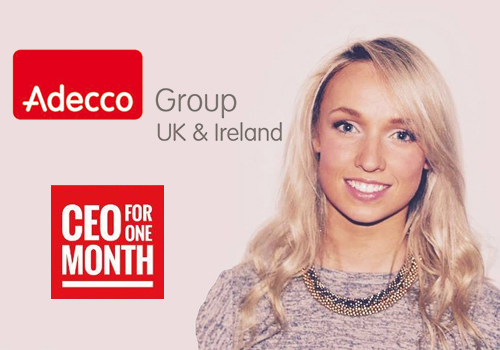 Graduate appointed CEO of Adecco for a month