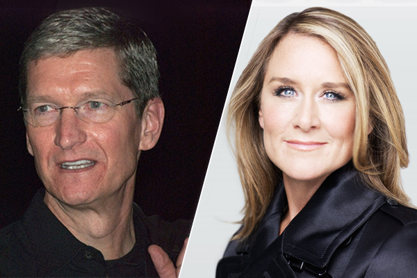 Apple's Angela Ahrendts paid more than Tim Cook in 2015