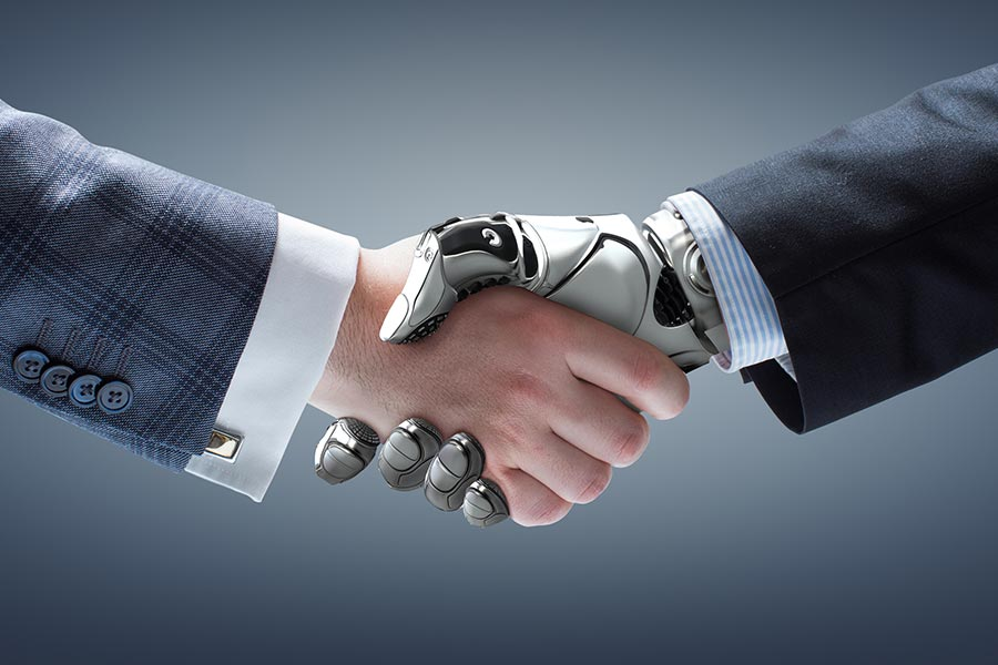 Aviva staff asked: Could a robot do your job? - those who say yes are retrained
