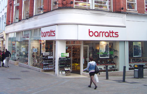 Retailers Barratts and Blockbuster enter administration