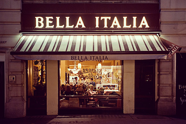 Bella Italia partners with rec firm to help parents find their niche