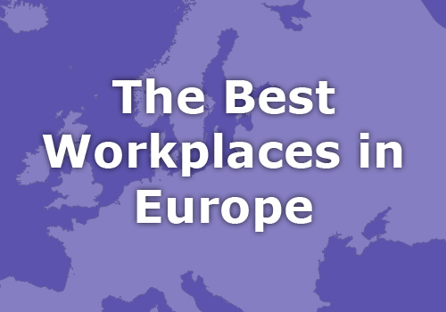 Recruitment firm named as a Best Workplaces in Europe 2015