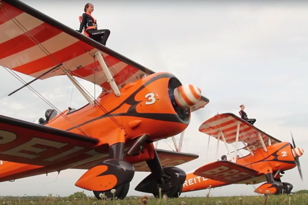 High flying females wanted as women's wingwalker team recruits