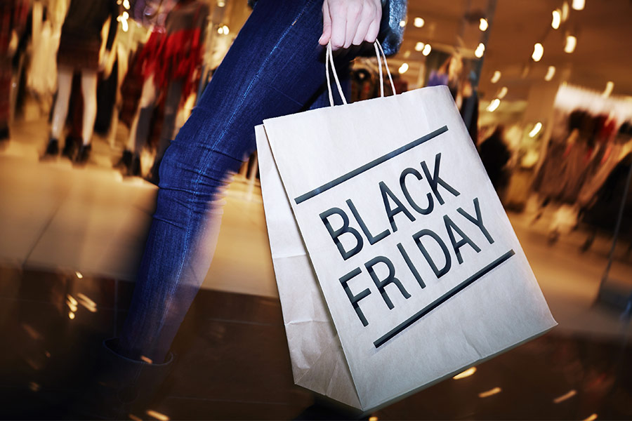 57% of Black Friday shoppers would pull a sickie to grab a bargain