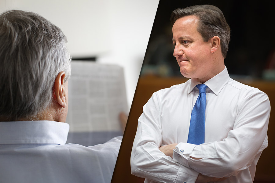 Political Punch-up: David Cameron vs Daily Mail Editor