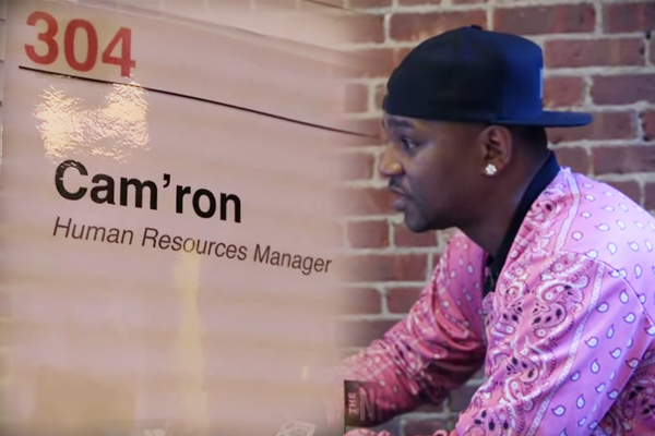 Rapper takes over HR department at Comedy Central