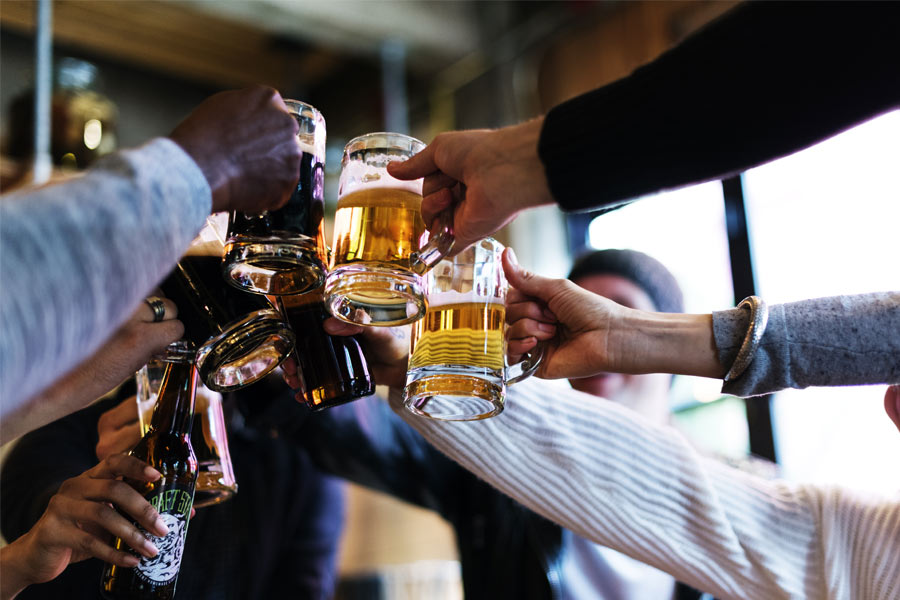 Workplace drinking culture: Staff admit they feel ...