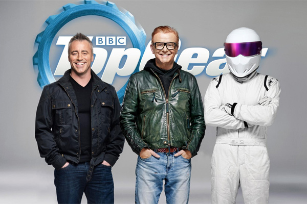 The one where Joey Tribbiani becomes the co-host of Top Gear