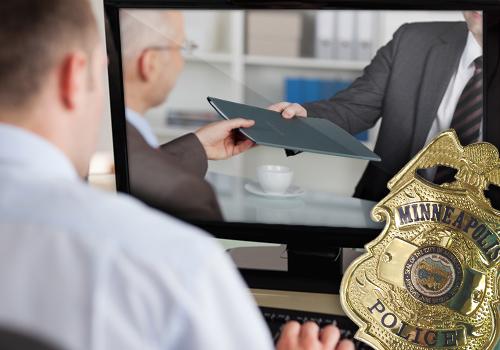 Police Investigator accused of filming competitors' job interviews