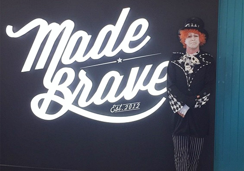 Mad Hatter sent to deliver CV by bold jobseeker