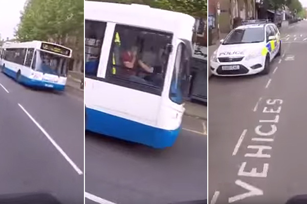 Cyclist gets colleague fired for driving while on phone