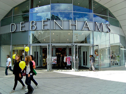 Debenhams give homeless job boost