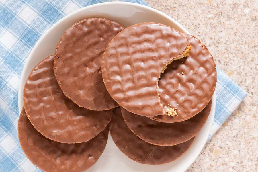 Britain's favourite workplace biscuit revealed