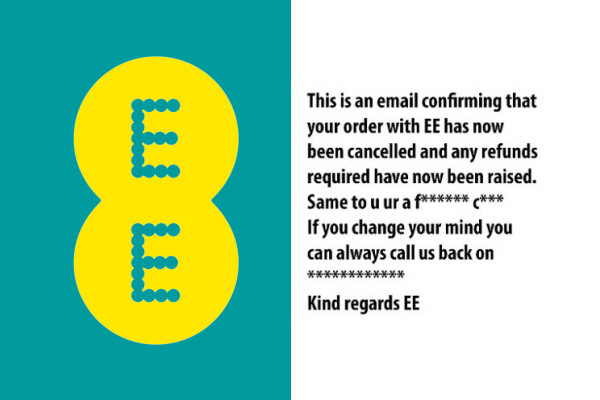 EE employee sends expletive-ridden email to irate customer