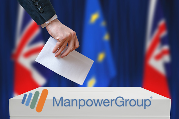 ManpowerGroup: Brexit nerves fraying hiring plans