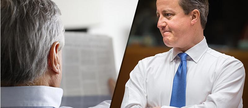 Political Punch-up: David Cameron vs Daily Mail Editor