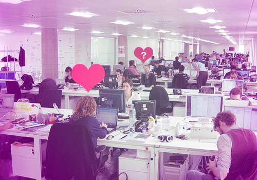 Half of office romances involve at least one person already in relationship