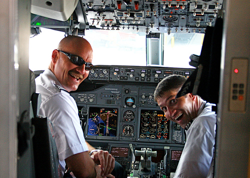 Pilots and engineers earn more than CEOs