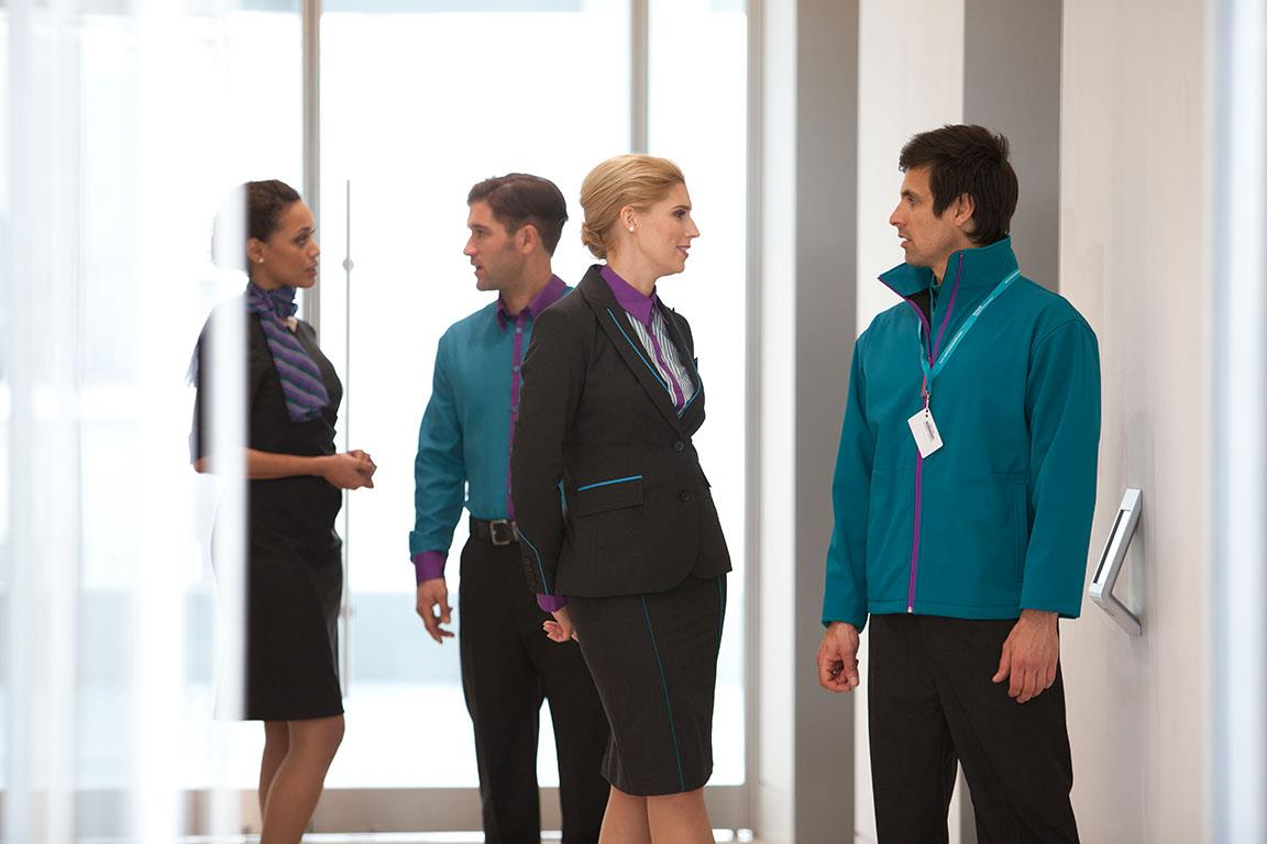 Gatwick Airport launches catwalk inspired uniforms for staff