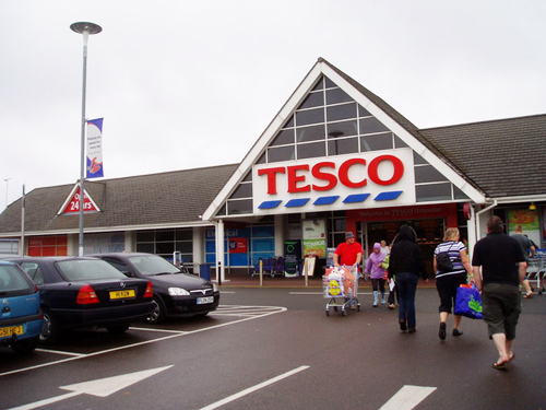 tesco chaos condom online marketing