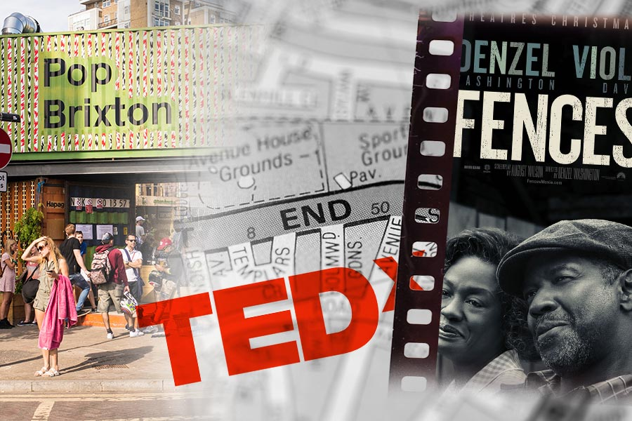HR on the weekend: Fences, TEDxEastEnd & Pop Brixton