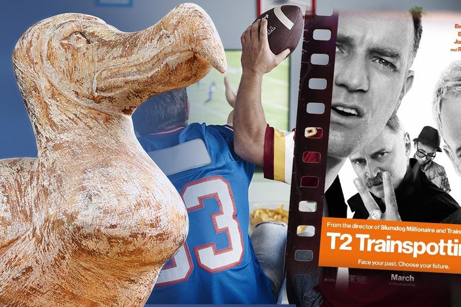 HR on the weekend: Trainspotting, Oxford Dodo Exhibition & Super Bowl LI