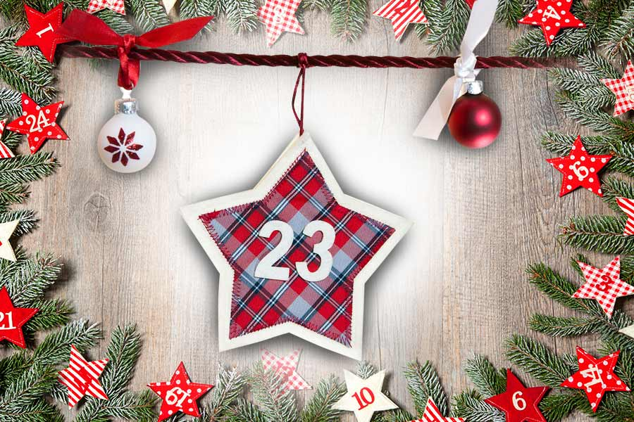 HR Grapevine Advent Calendar: Keeping healthy over Christmas