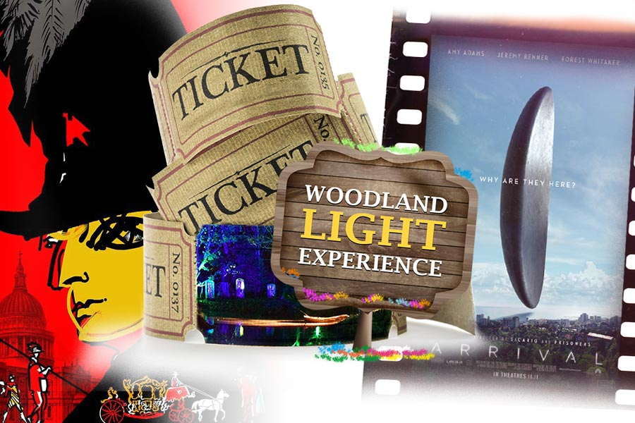 HR on the weekend: Arrival, Woodland Lights Experience & more...