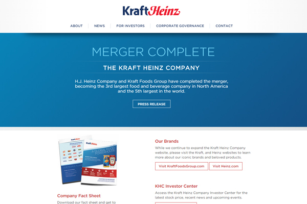 heinz company integrating business strategies Working with virtustream enabled us to deploy a unified business heinz faced challenges integrating the disparate the company's.