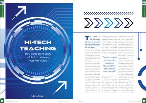 Hi-tech teaching