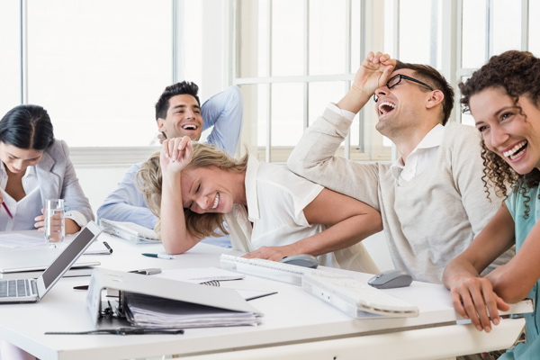 It's no joke, humour is key to business success