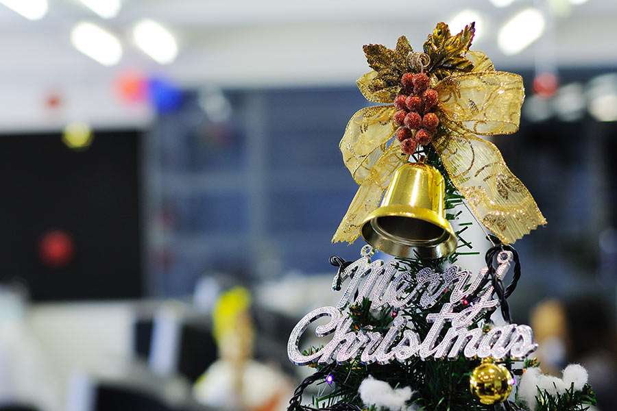 How to keep staff happy if they're working over Christmas