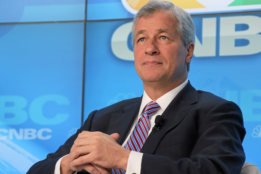 JP Morgan CEO rebukes Clinton for attacking 'a whole class of people'