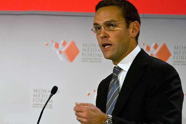 James Murdoch praises Empire's 'innovative' Pepsi ad